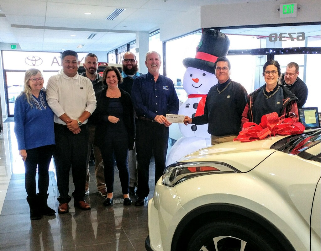 Koons Toyota Of Easton Donates To Benedictine S Annual Fund Campaign Inspired Give